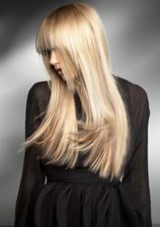 Felicity Jones With Shiny Brunette Tresses. Great Lengths Long Blonde Hair