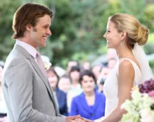 Jennifer Morrison & Jesse Spencer Wedding On Fox/TV House