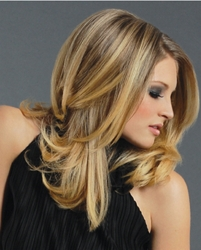 What's the difference between very dark blonde and light brown hair? s