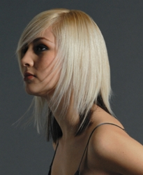 Pale Platinum Blonde Hair