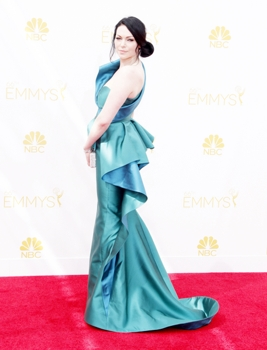 Laura Prepon - 66th Annual Primetime Emmy Awards - Arrivals Nokia Theatre L.A. Live / Los Angeles, CA, USA 08/25/2014 - Photographer - David Gabber - PRPhotos.com