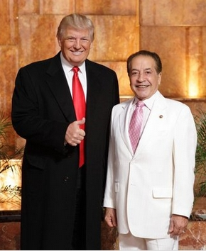 Farouk Shami With Donald Trump On NBC's Celebrity Apprentice