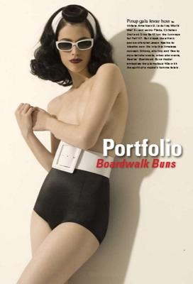 Boardwalk Buns - Jason Kearns - Art Direction: Jason Kearns of Kearns Davidson Hair and Skin Care - Makeup: Hanoch - Styling: Lorraine Langlois Photographer: Richard Dubois - Model -  Next Canada