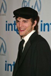 Ashton Kutcher Wearing Ivy Cap - DC Media - All Rights Reserved