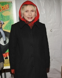 Debbie Harry With Hints Of Gray Hair