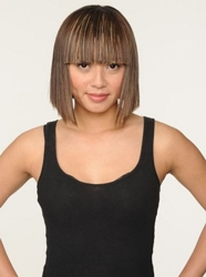 Fractured Bob With Fill Fringe - Bravo/TV