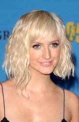 Ashlee Simpson Platinum Blonde