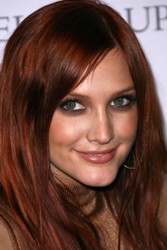 Ashlee Simpson Red Pepper Hair