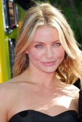 Cameron Diaz With Signature Blonde Highlighted Hair
