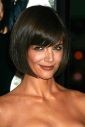 Katie Holmes With Bob Hairstyle