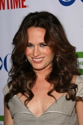 Elizabeth Reaser Long Curly Hairstyle