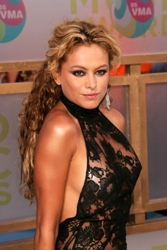 Paulina Rubio With Half Up/ Half Down Hairstyle
