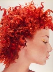 Beautiful Red Natural Curls