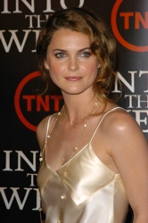 """Keri Russell With Natural Curls At """"Into The West"""" Premiere"""