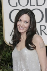 Image Of Angelina Jolie at 66th Annual Golden Globes Awards Arrivals 01-11-09 - DailyCeleb.com - All Rights Reserved