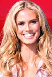Heidi Klum - Hair Color Client of Reyad Fritas