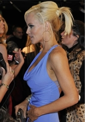 Jenny mccarthys sexy ponytail at leather and laces hair health beautiful blonde jenny mccarthy pmusecretfo Images