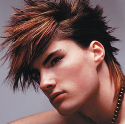 Retro Man's Hairstyle With Tons Of Texture