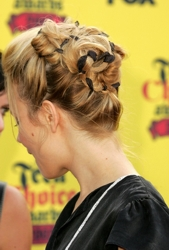 Rachel McAdams Long Blonde Updo
