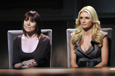 Professional Poker Player Annie Duke and Brande Roderick - NBC - All Rights Reserved