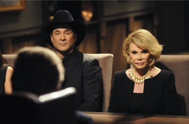 Clint Black and Joan Rivers - NBC Photo - Ali Goldstein - NBC - All Rights Reserved