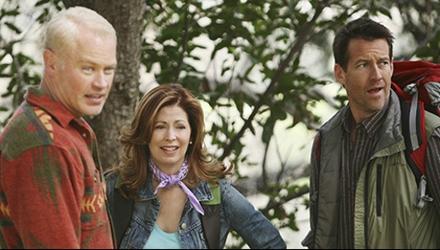 Neal McDonough, Dana Delany, James Denton on Desperate Housewives