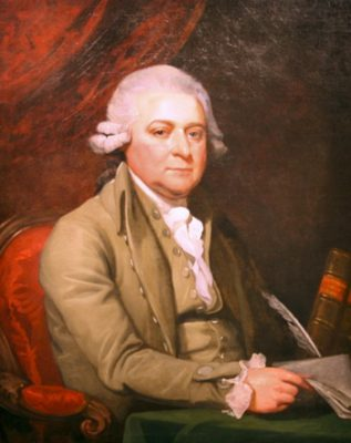 Dry Shampoo Hair Powder - The Evolution From 1770s To Current - John Adams in 1788. Mather Brown - Photograph of original painting, shown online at https://www.flickr.com/photos/nostri-imago/3312439026 - Wikipedia