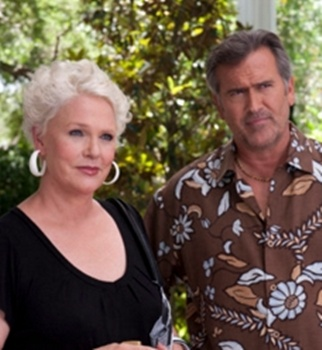 Snowy Haired Sharon Gless Rocks On Burn Notice - Sharon Gless on Burn Notice - USA - All Rights Reserved