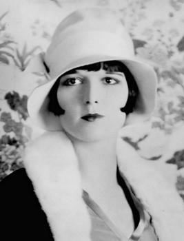 Louise Brooks - Born Mary Louise Brooks. Noted for bobbed haircut - Wikipedia.com - All Rights Reserved