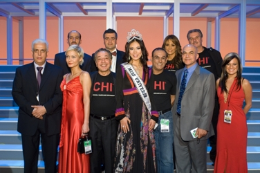 Farouk Shami With Miss Universe in 2007
