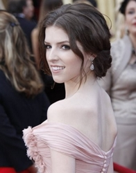 Actress Anna Kendrick wearing a new version of a tendril/fringedril at the 2010 Academy Awards - ABC.com - Oscar.com - All Rights Reserved