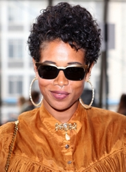 Kelis With Short Natural Hair