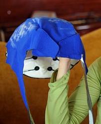 Blue Cap - Penguin Cold Caps