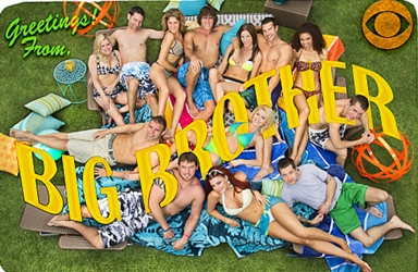 Britney Haynes With Cast Of Big Brother 12
