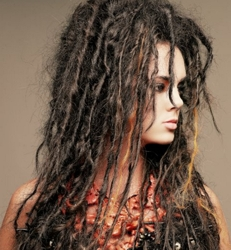 Dreadlock Extensions - Hair & Photo Courtesy of Barbara Lhotan - All Rights Reserved