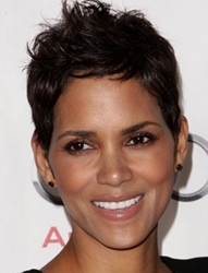 Halle Berry In Short Haircut