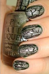 OPI Silver Shatter Polish