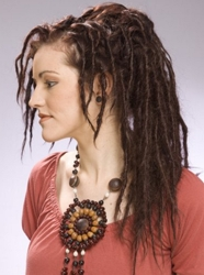 Long Brunette Dreadlocks