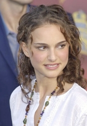 Natalie Portman Curly Hair in 2002