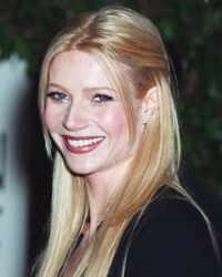 Gwyneth Paltrow With Center Part And Crown Bump