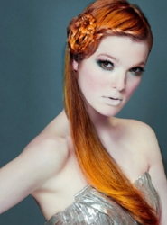 Beautiful Sculpted Braided Prom Or Bridal Hairstyle For Long Hair