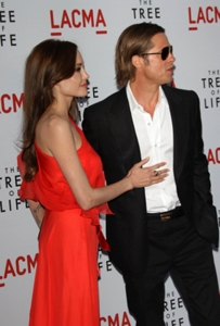 Famous Lovers - Angelina Jolie and Brad Pitt