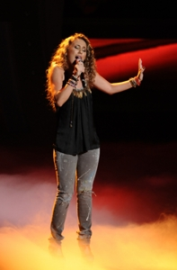 Haley Reinhart With Long Natural Curls