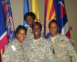 Short Female Haircuts Military Women