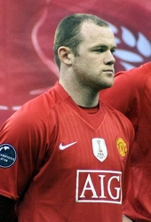 Footballer Wayne Rooney in 2008 - Wikipedia - All Rights Reserved