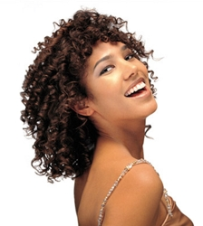 Phyto Naturally Curly Hairstyle