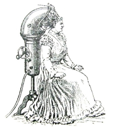 Early Image Of Hair Dryer On Wikipedia