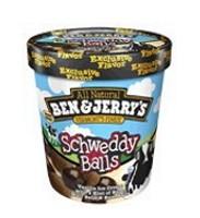 Ben & Jerry Schweddy Balls