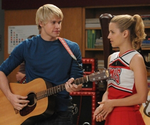 Chord Overstreet With Dianna Agron
