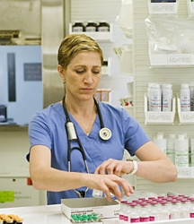 Edie Falco As Nurse Jackie